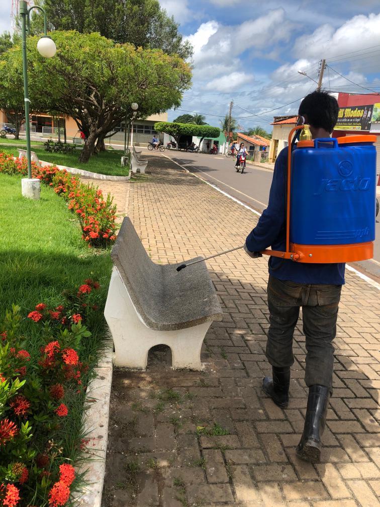 Prefeitura de Joaquim Pires realiza sanitarização em locais públicos - Imagem 13