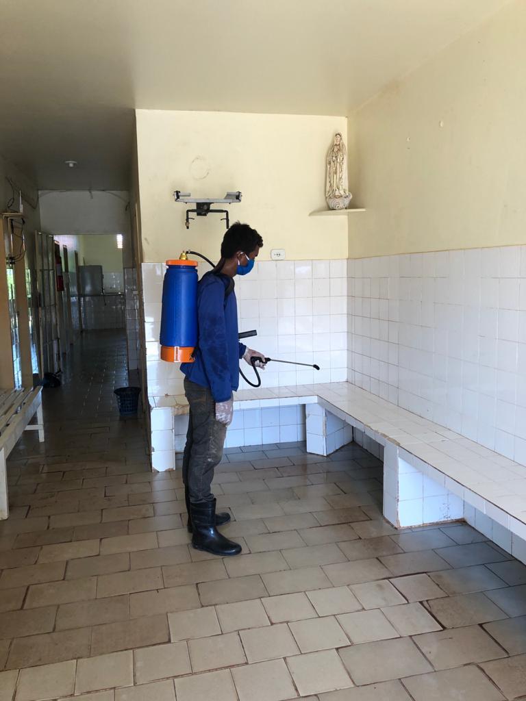Prefeitura de Joaquim Pires realiza sanitarização em locais públicos - Imagem 1