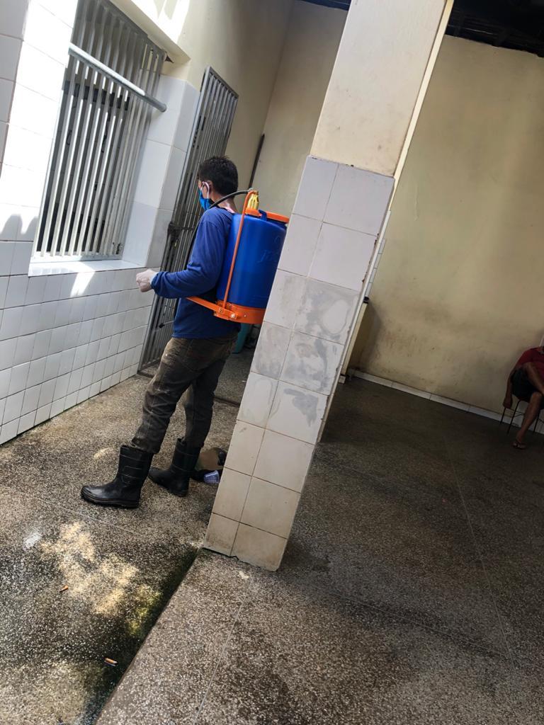 Prefeitura de Joaquim Pires realiza sanitarização em locais públicos - Imagem 9