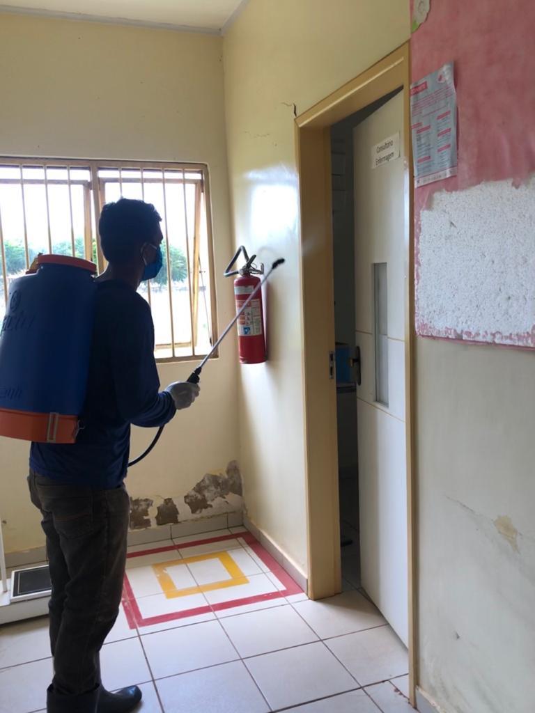 Prefeitura de Joaquim Pires realiza sanitarização em locais públicos - Imagem 3