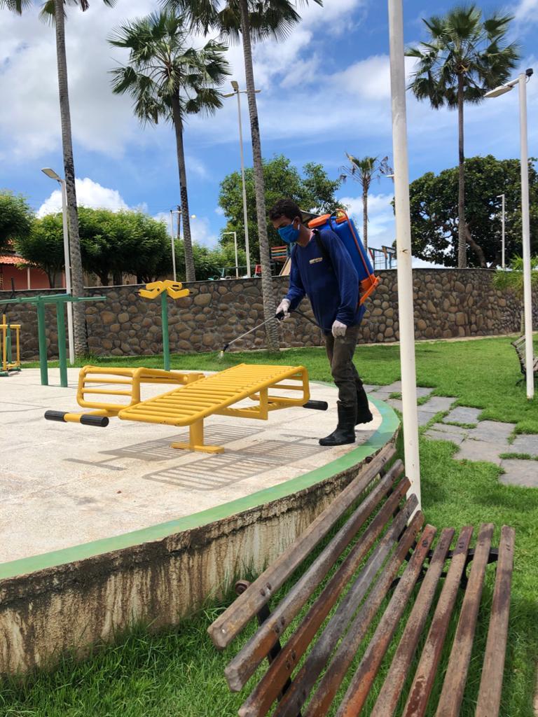 Prefeitura de Joaquim Pires realiza sanitarização em locais públicos - Imagem 14