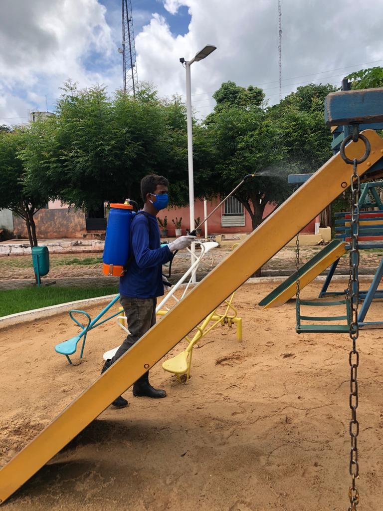Prefeitura de Joaquim Pires realiza sanitarização em locais públicos - Imagem 5