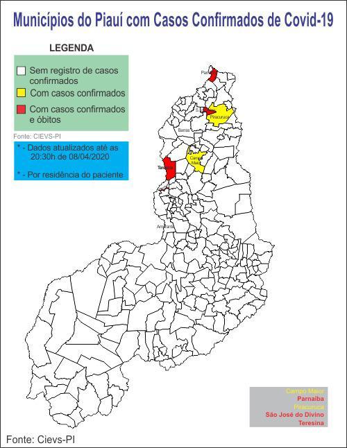 Número de mortes por coronavírus sobe para 6 no Piauí, diz Sesapi - Imagem 2