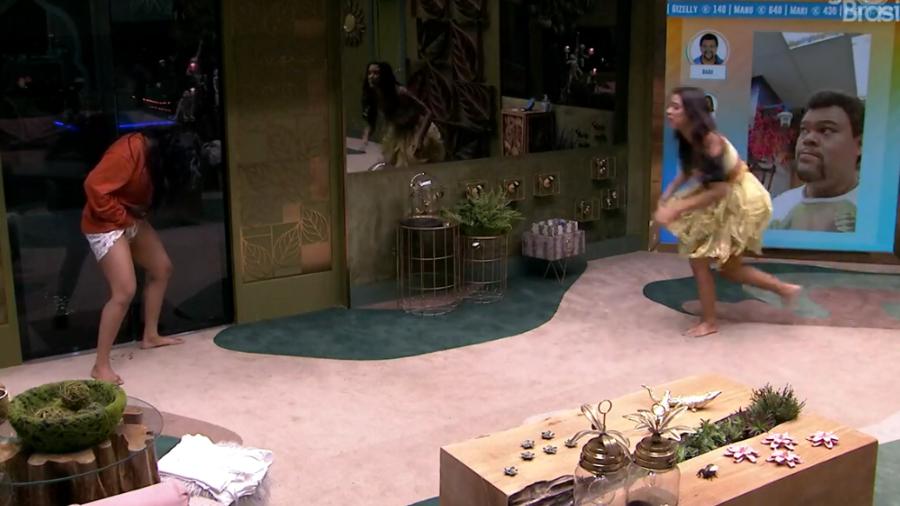 BBB20: Flayslane se recusa a sair de festa e faz xixi no chão da sala - Imagem 1