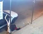 Vídeo: Bandido desmaia durante assalto e é resgatado por comparsas