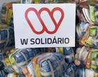 Wesley Safadão doa 1500 cestas básicas para famílias de Teresina