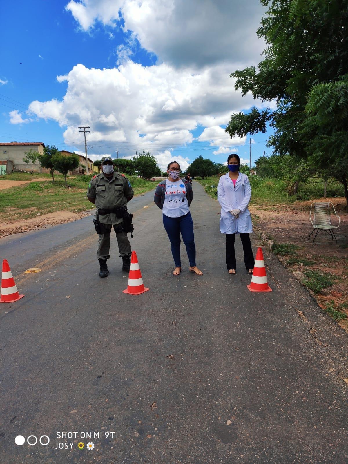 Ações em combate ao COVID-2019 são realizadas em Santo Inácio  - Imagem 19