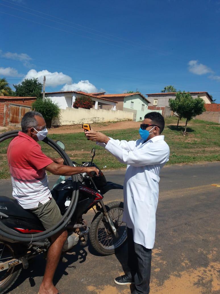 Ações em combate ao COVID-2019 são realizadas em Santo Inácio  - Imagem 17
