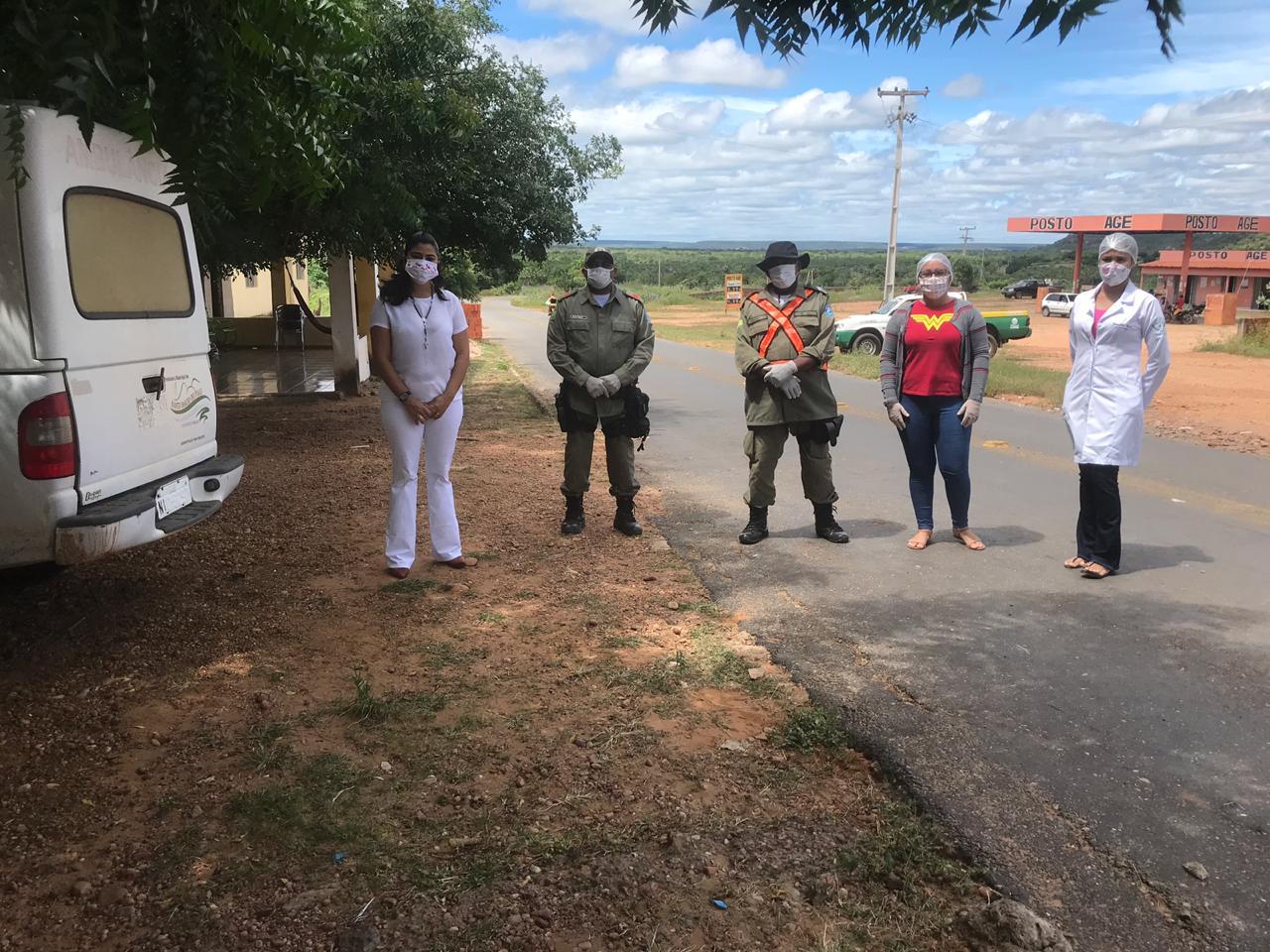 Ações em combate ao COVID-2019 são realizadas em Santo Inácio  - Imagem 13