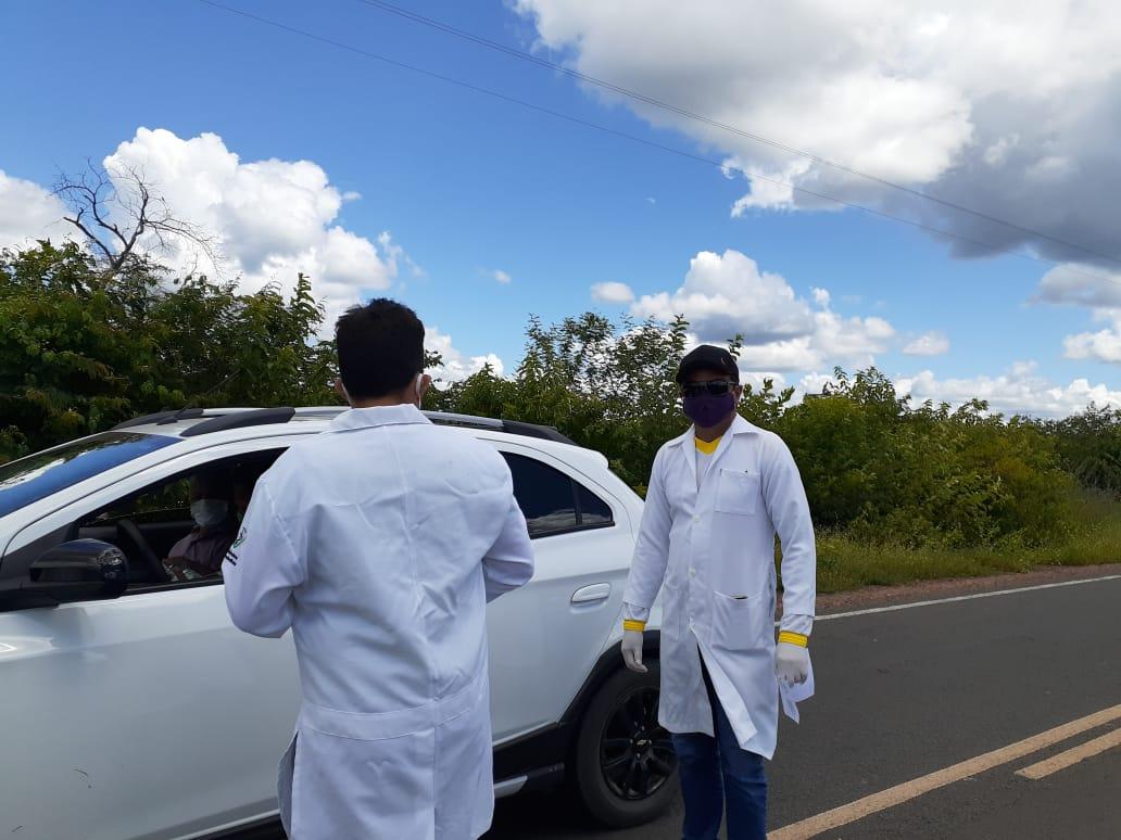 Ações em combate ao COVID-2019 são realizadas em Santo Inácio  - Imagem 18