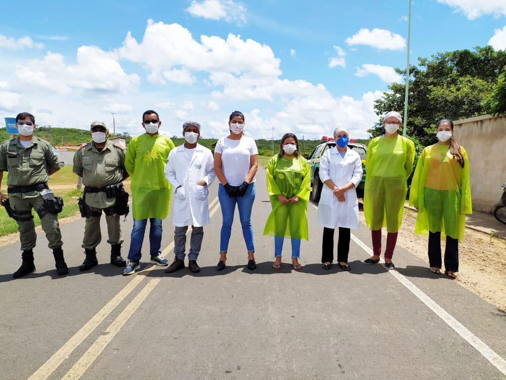 Ações em combate ao COVID-2019 são realizadas em Santo Inácio  - Imagem 7