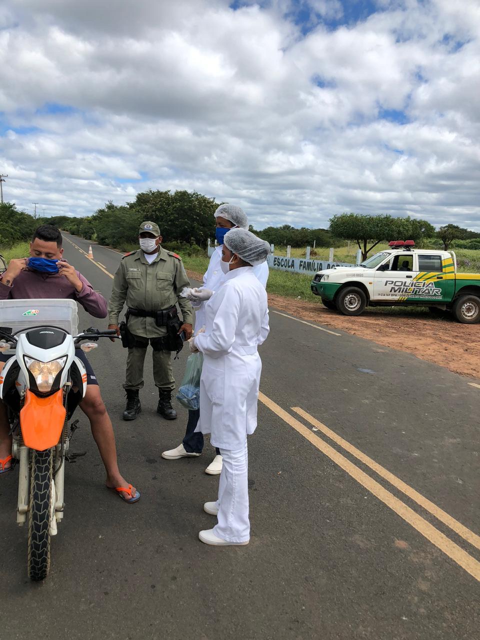 Ações em combate ao COVID-2019 são realizadas em Santo Inácio  - Imagem 22