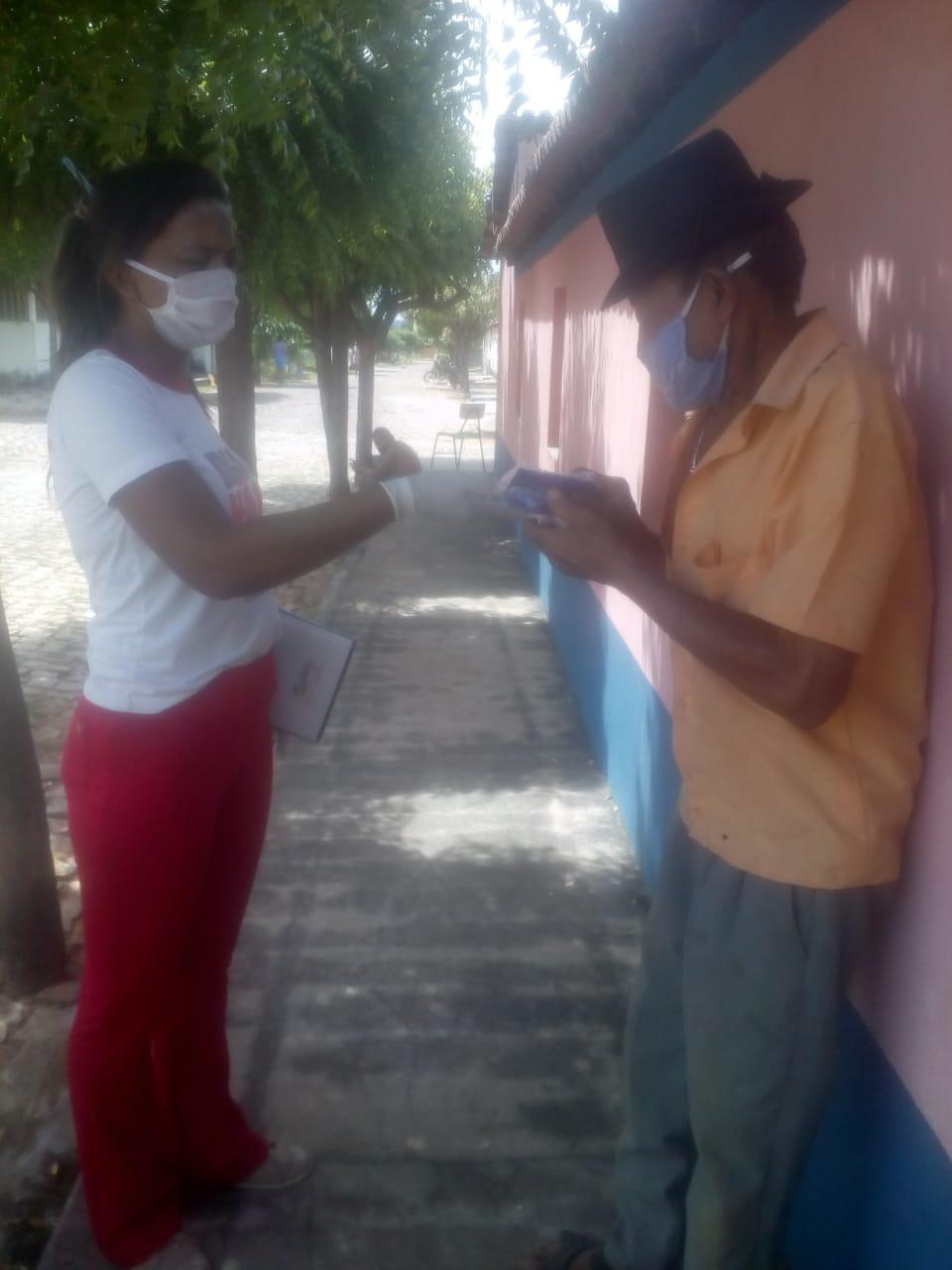 Ações em combate ao COVID-2019 são realizadas em Santo Inácio  - Imagem 3