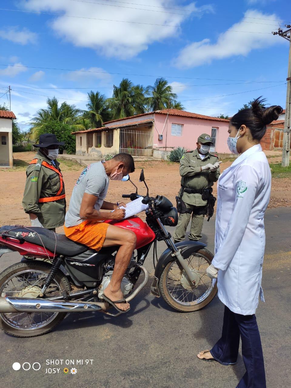 Ações em combate ao COVID-2019 são realizadas em Santo Inácio  - Imagem 23