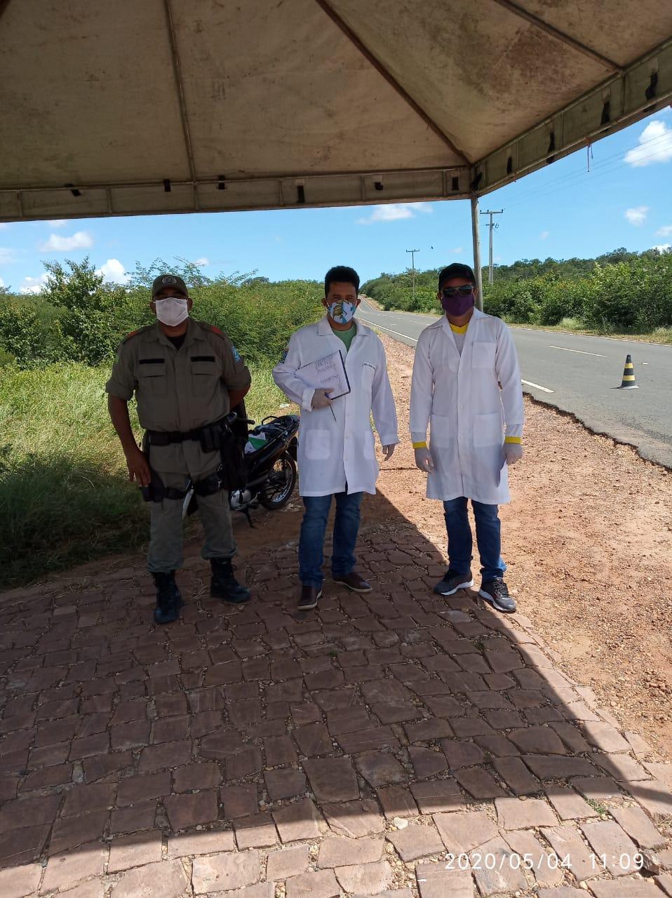 Ações em combate ao COVID-2019 são realizadas em Santo Inácio  - Imagem 20
