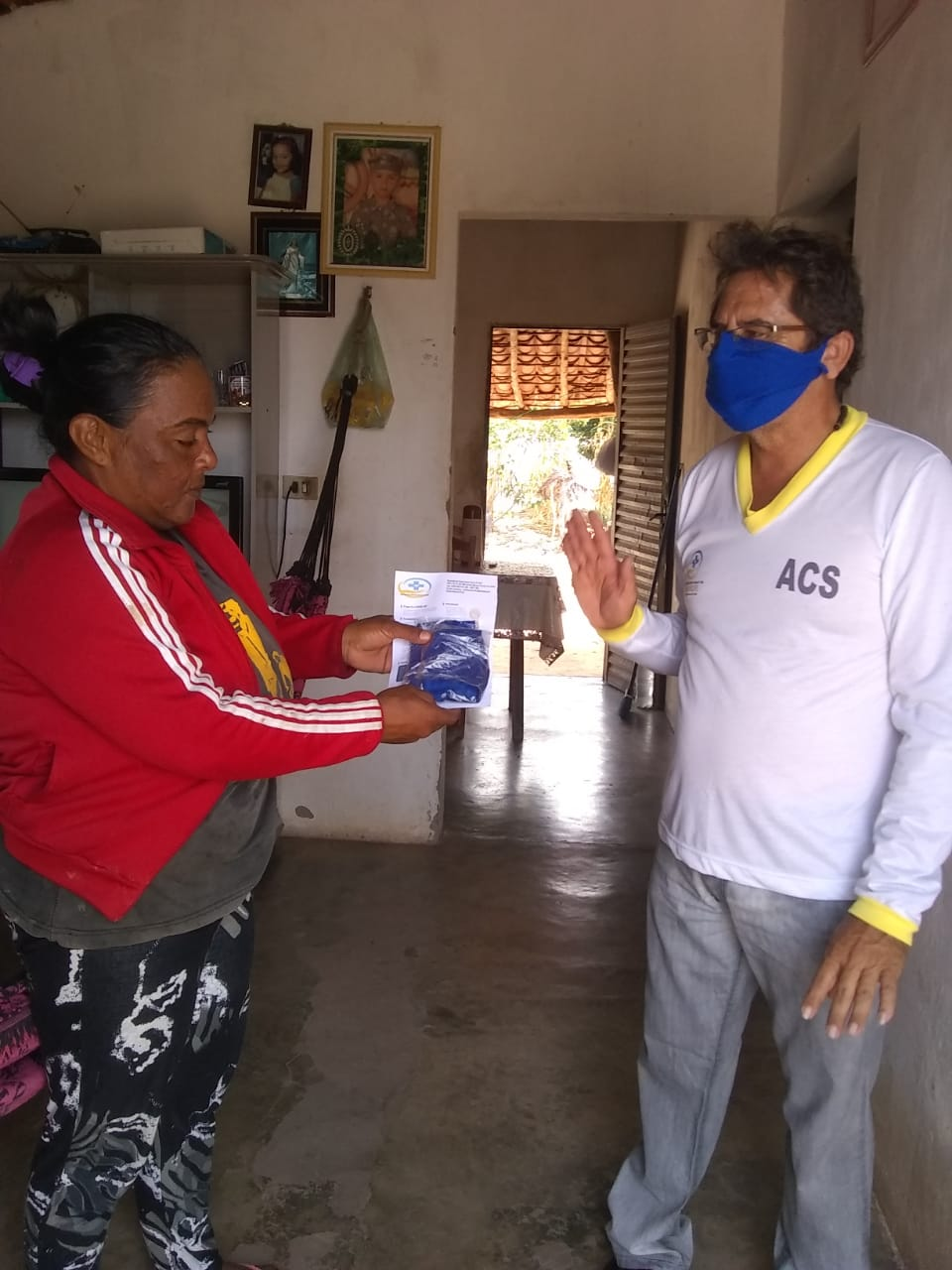 Ações em combate ao COVID-2019 são realizadas em Santo Inácio  - Imagem 1