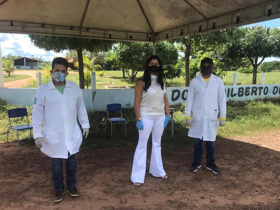 Ações em combate ao COVID-2019 são realizadas em Santo Inácio  - Imagem 24