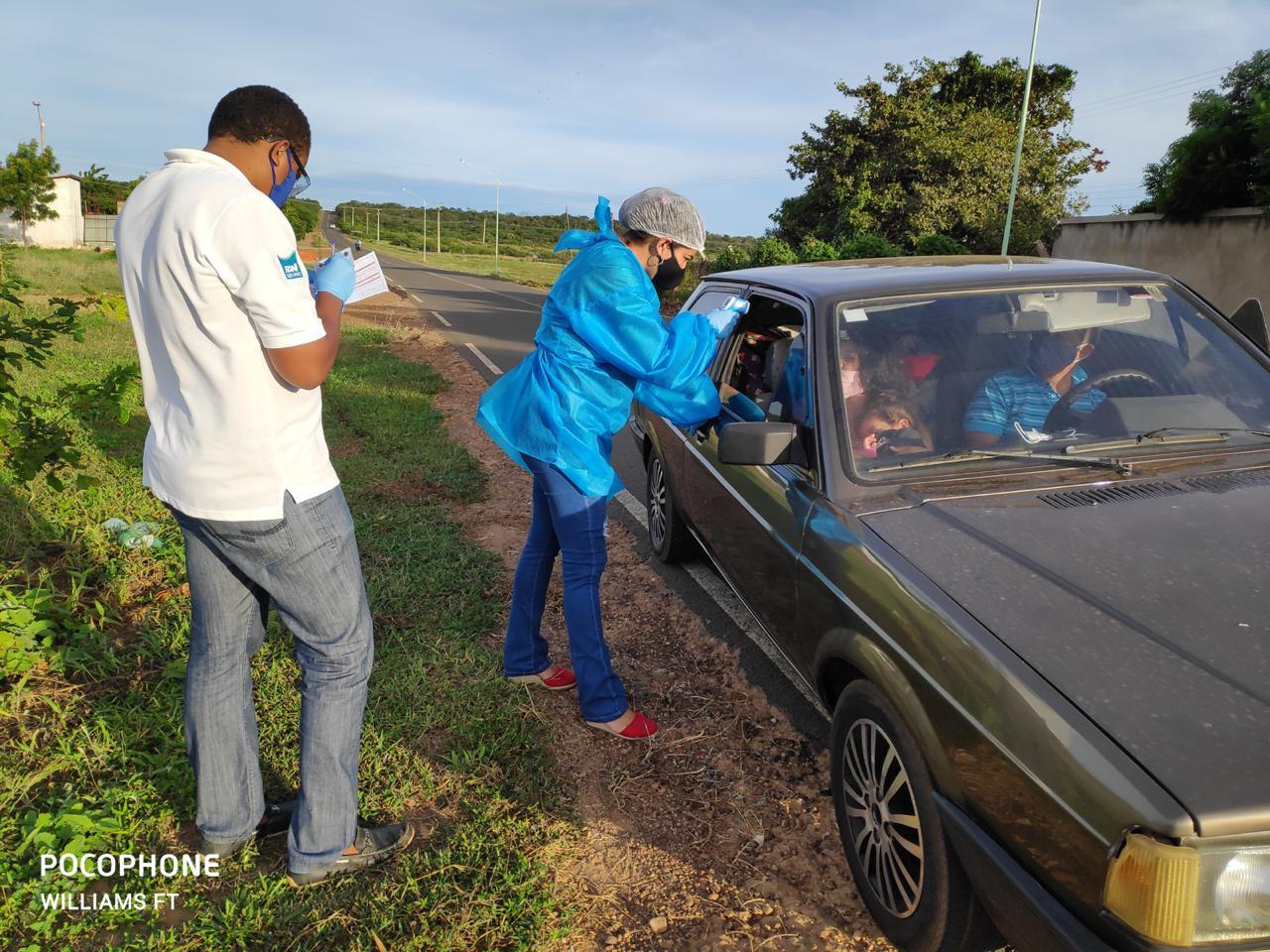 Ações em combate ao COVID-2019 são realizadas em Santo Inácio  - Imagem 10