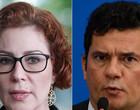 Carla Zambelli propôs a Sergio Moro acertar com Bolsonaro vaga no STF