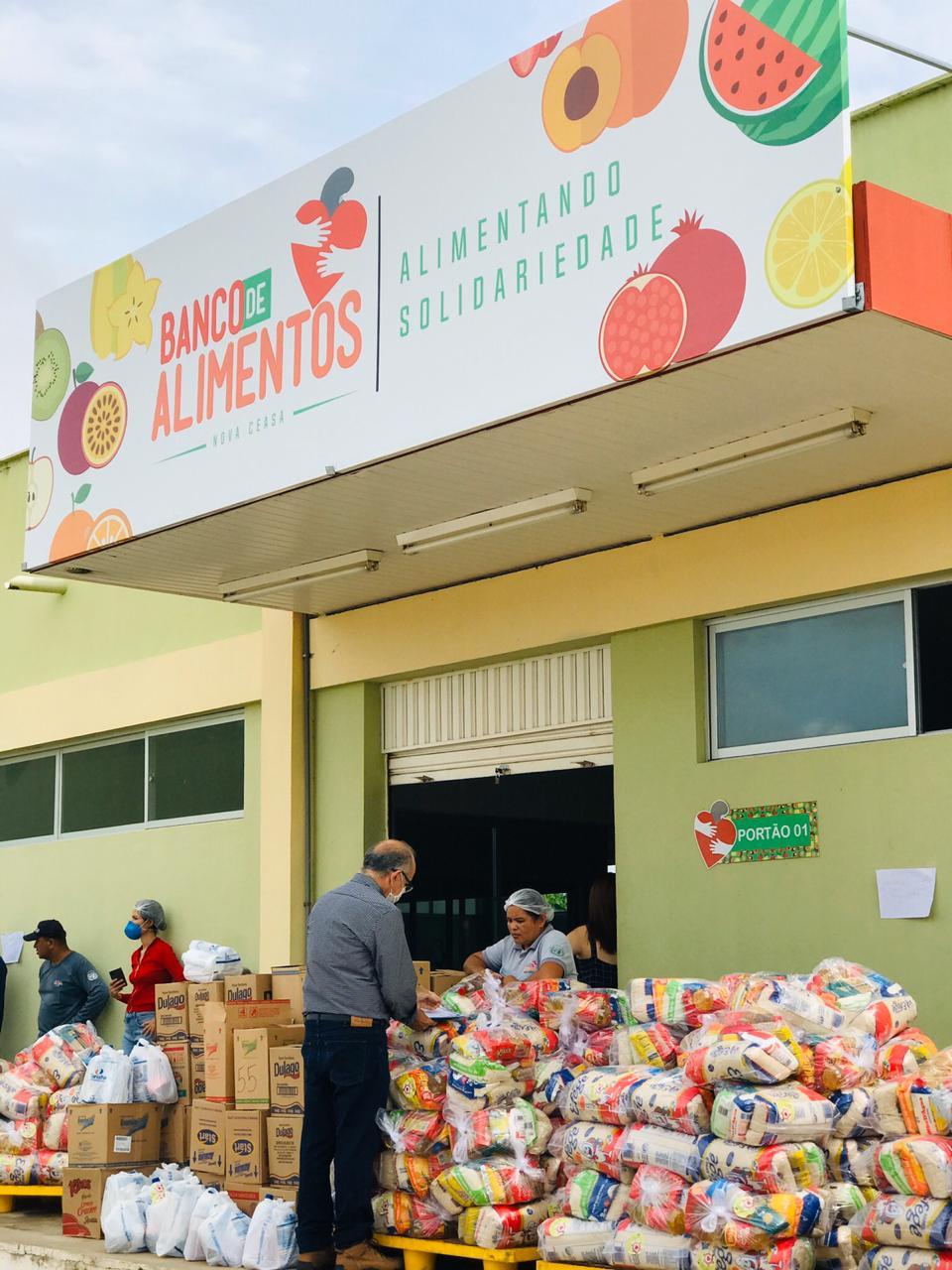 """""""Parceria e Solidariedade"""" vai distribuir 10 toneladas em doações  - Imagem 1"""