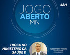 "Molon diz que saída de Teich deixa o Brasil ""de joelhos"" para a covid"