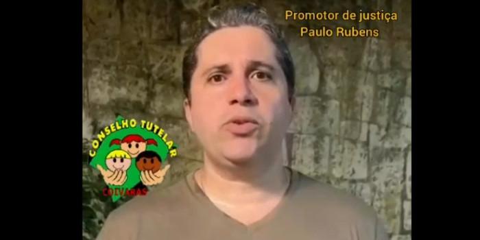 Promotor Paulo Rubens fala sobre Edição 2020 da Campanha Faça Bonito do Conselho Tutelar de Coivaras