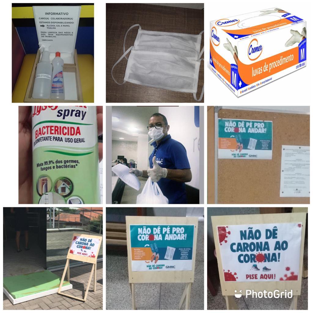 Veja como o GMNC está agindo nos seus espaços de trabalho na pandemia - Imagem 1