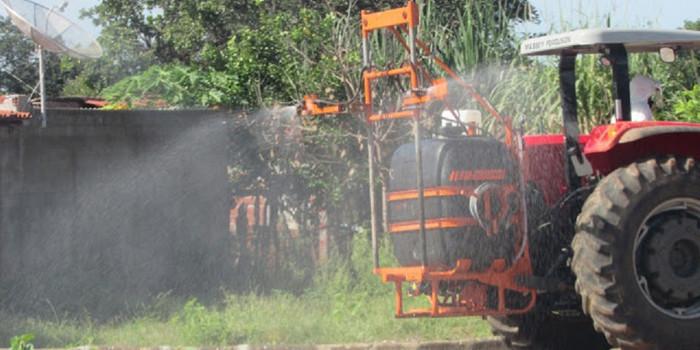 Em combate ao coronavírus Prefeitura realiza pulverização veicular nas vias de São João da Serra