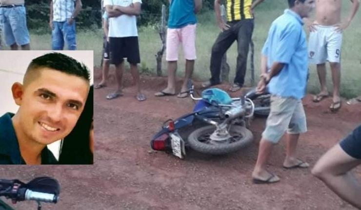 Homem morre após perder o controle de motocicleta em Sigefredo Pacheco - Imagem 1