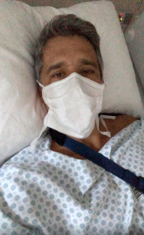 """Marcio Garcia sofre acidente doméstico e passa por cirurgia: """"Susto"""" - Imagem 1"""