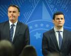 Bolsonaro avisou por mensagem a Moro sobre troca de comando na PF