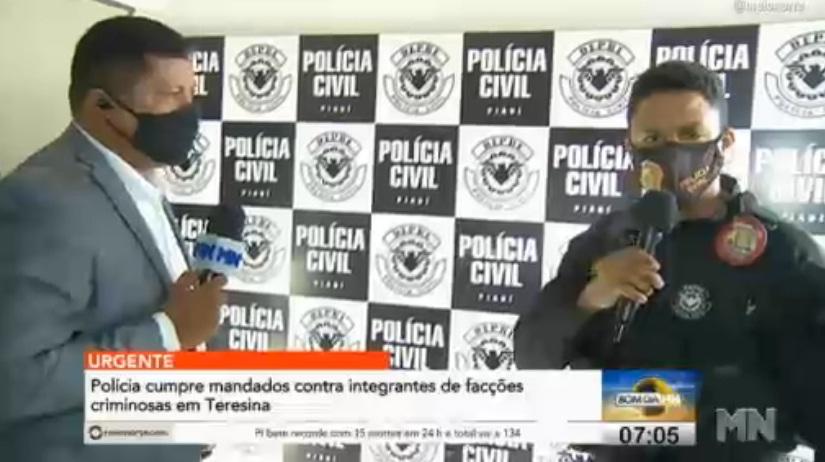 Polícia deflagra operação contra integrantes de facções criminosas em Teresina - Imagem 2