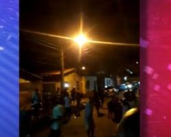 Moradores fazem festa para comemorar soltura de traficante na zona Norte de Teresina
