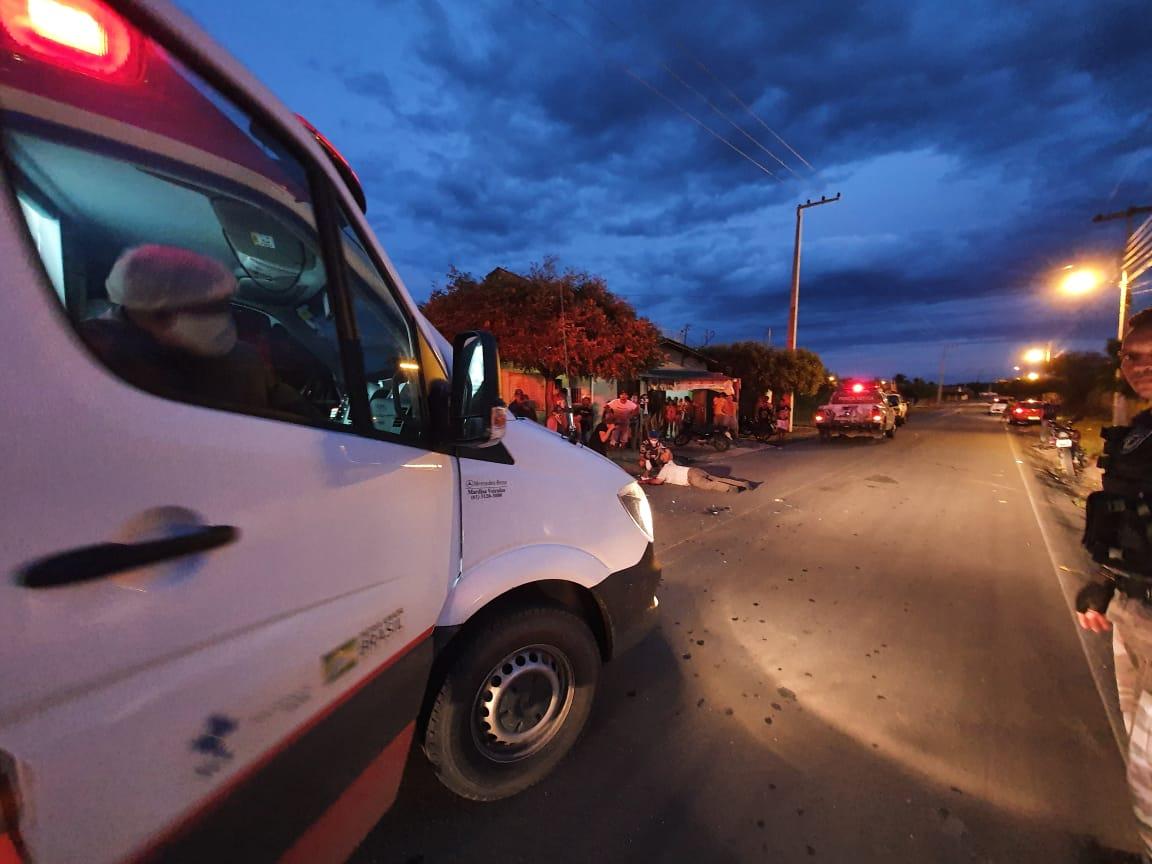 Acidente entre motocicletas deixa duas pessoas feridas em Jaicós - Imagem 3