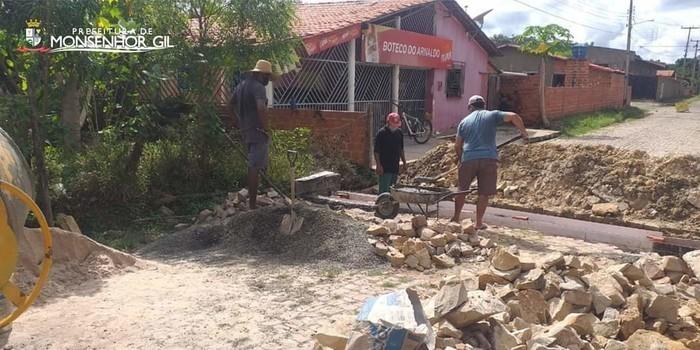 Em tempos de pandemia, outros serviços avançam por parte da Prefeitura de Monsenhor Gil