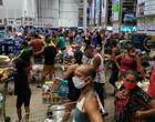 Anúncio de lockdown causa lotação em supermercados da Grande São Luís