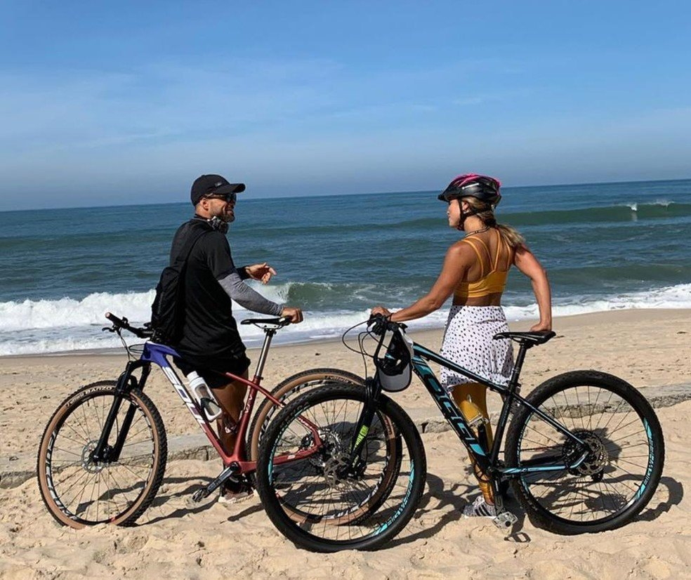 Diego vai à praia, descumpre decreto do governo e protocolo do Fla - Imagem 1