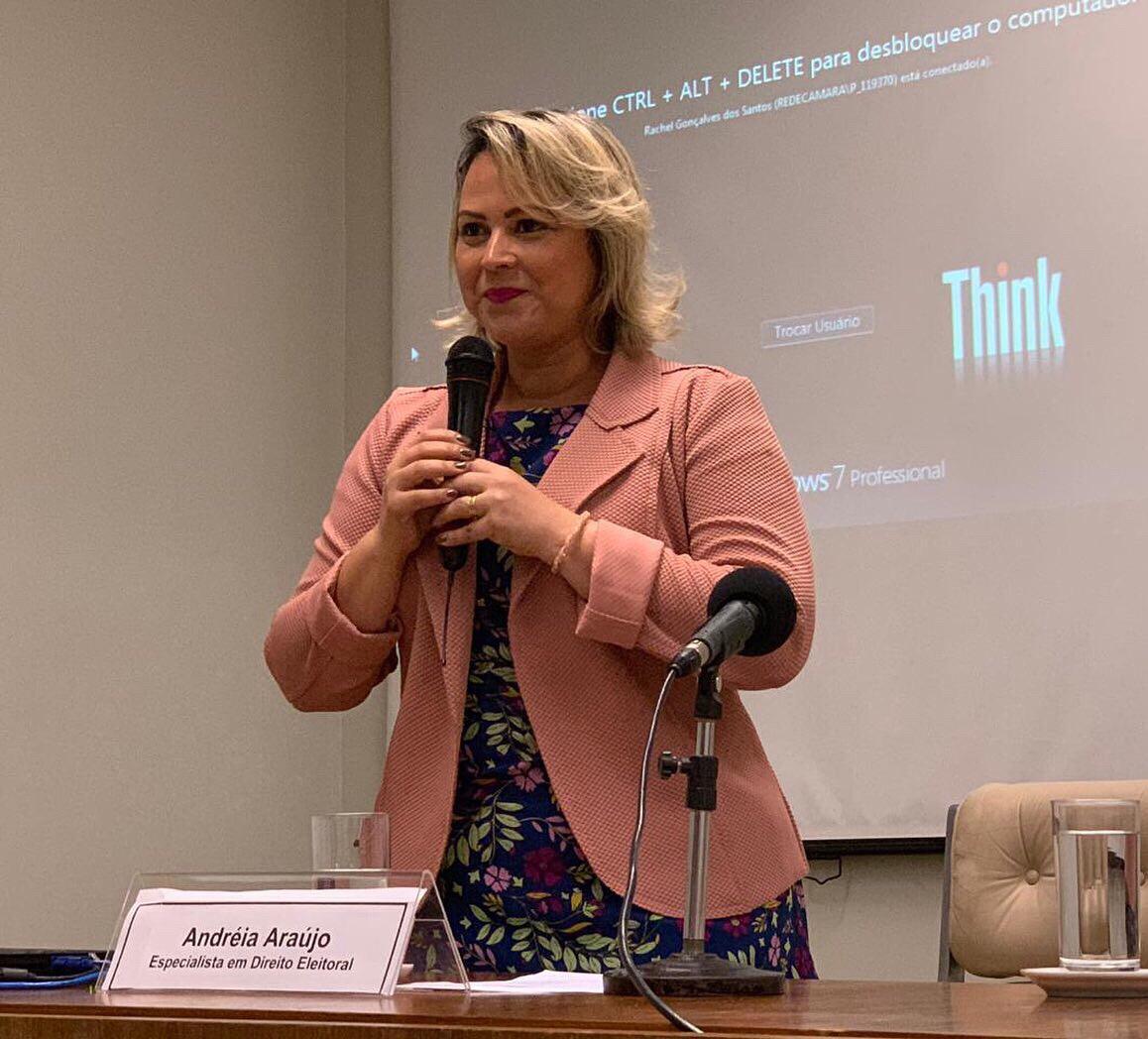 Presidente da Caapi, Andréia Araújo