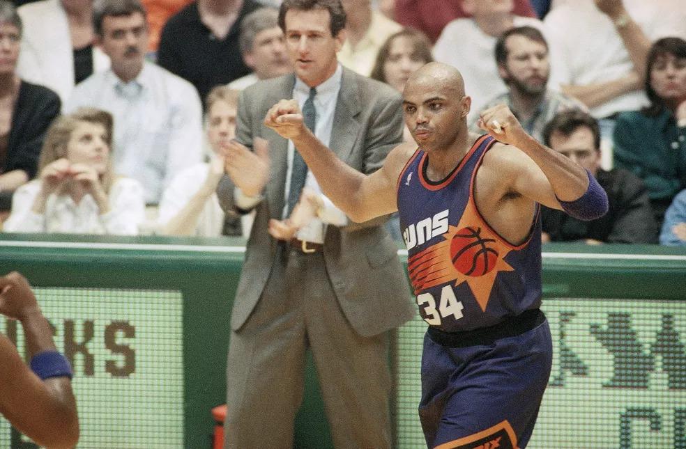 Charles Barkley Phoenix Suns — Foto: AP
