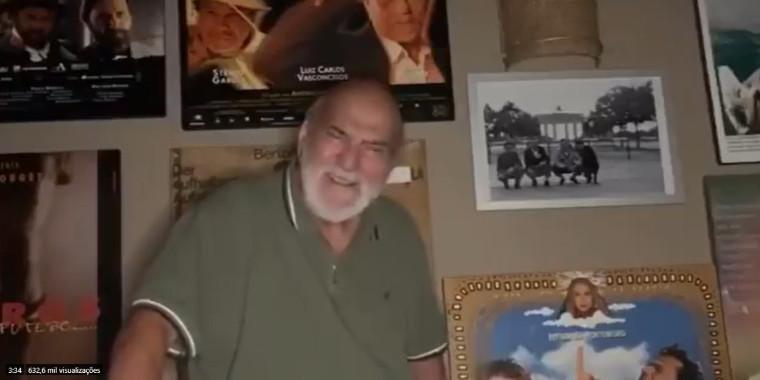 Lima Duarte homenageia Flavio Migliaccio em vídeo emocionante; assista