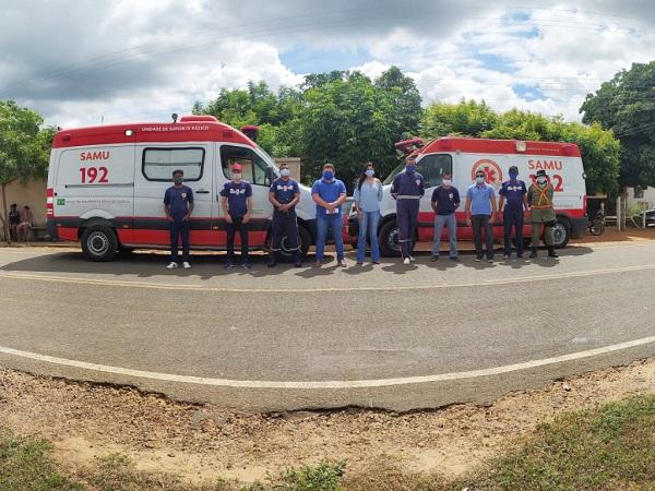 O Serviço Móvel de Urgência ( SAMU) de Santo Inácio do Piauí recebeu uma nova ambulância - Imagem 4