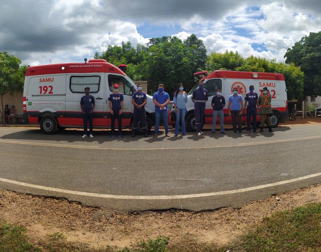 O Serviço Móvel de Urgência ( SAMU) de Santo Inácio do Piauí recebeu uma nova ambulância - Imagem 7