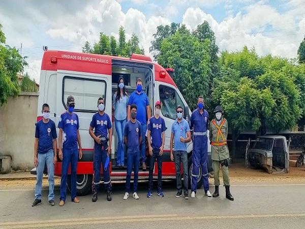 O Serviço Móvel de Urgência ( SAMU) de Santo Inácio do Piauí recebeu uma nova ambulância - Imagem 1