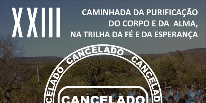Depois de 22 anos Caminhada é cancelada em Monsenhor Gil