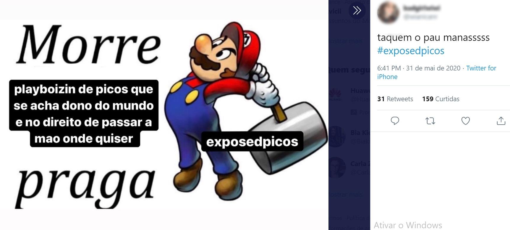 No twitter, estudantes expõem assédio sexual de professores em Picos - Imagem 4