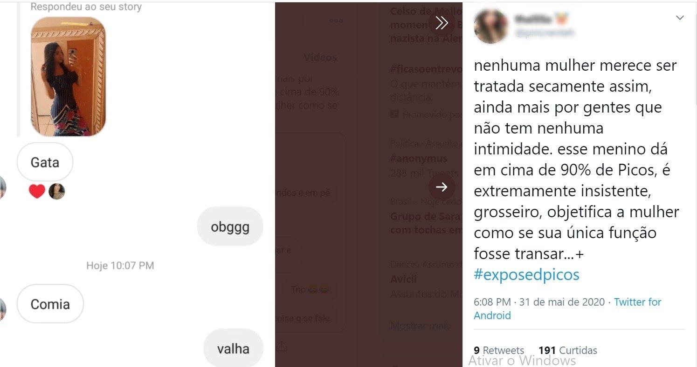 No twitter, estudantes expõem assédio sexual de professores em Picos - Imagem 2