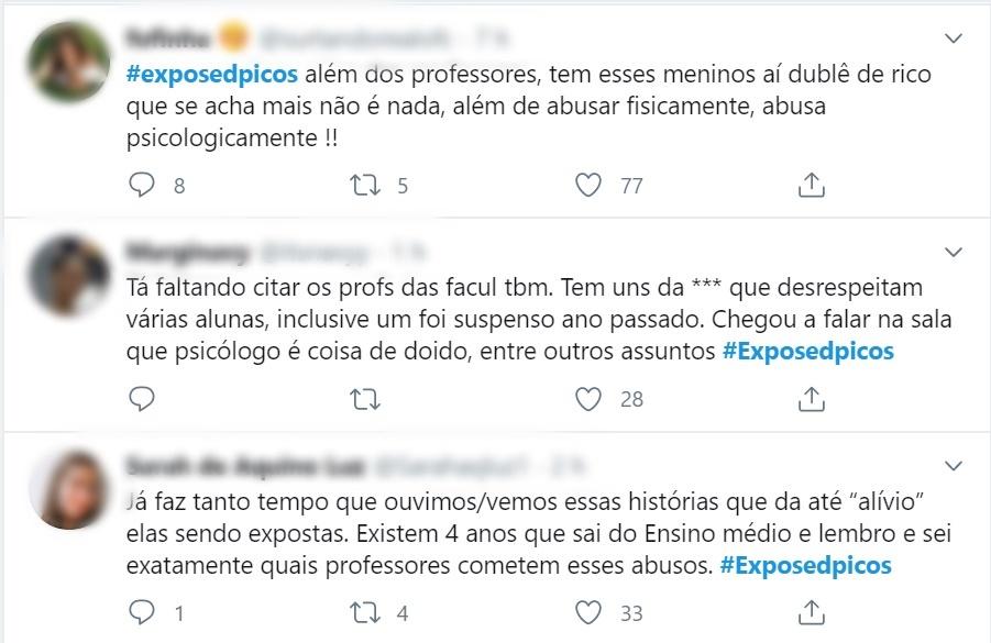 No twitter, estudantes expõem assédio sexual de professores em Picos - Imagem 7