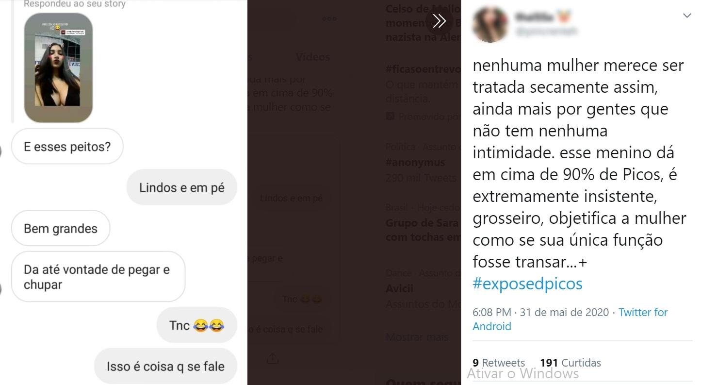 No twitter, estudantes expõem assédio sexual de professores em Picos - Imagem 3