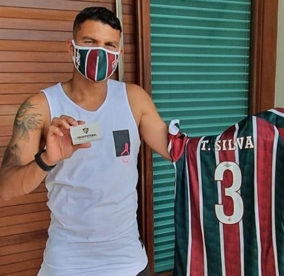 Thiago fez campanha sóci-torcedor para Flu. Foto/Reprodução