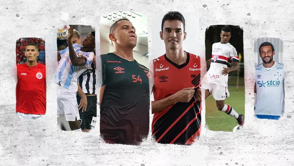 Contratações do Athletico. Foto: Globo Esporte